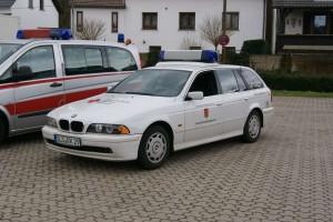 BMW Einsatzfahrzeug